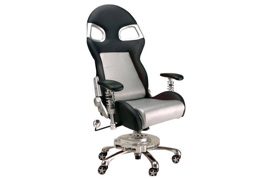 PitStop LXE Office Chair - Silver