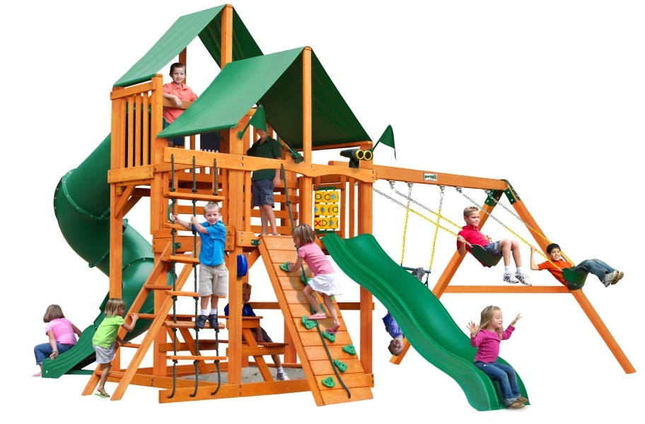 Great Skye I Playhouse - Deluxe Green Canopy