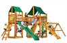 Pioneer Peak Playhouse - Pioneer Peak Playhouse with Canvas Forest Green Canopy