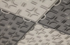 Solid Tiles w/ Raised Squares