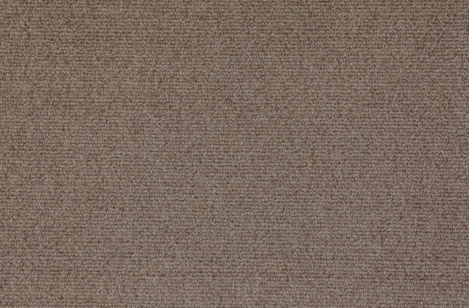 Premium Ribbed Carpet Tiles - Taupe