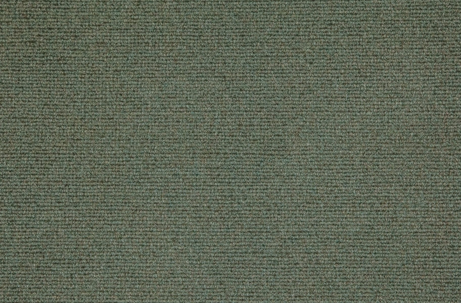 Premium Ribbed Carpet Tiles - Olive