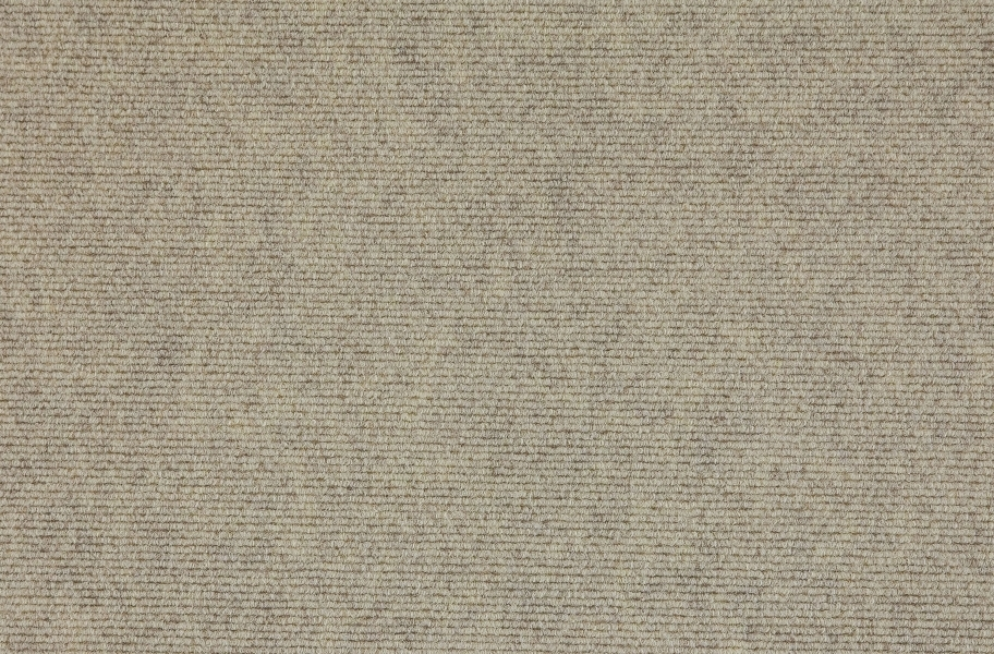 Premium Ribbed Carpet Tiles - Ivory