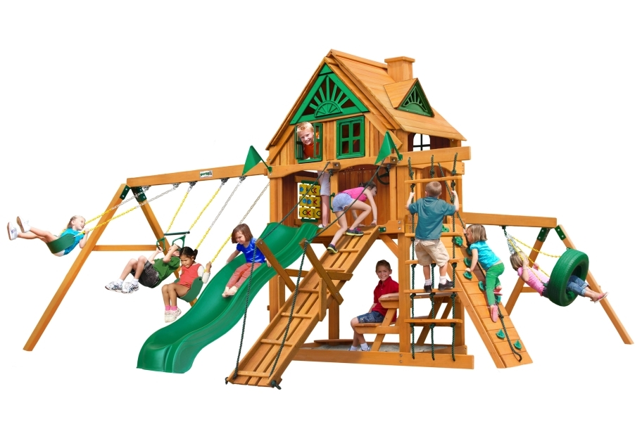 Frontier Playset - Treehouse with Fort add-on