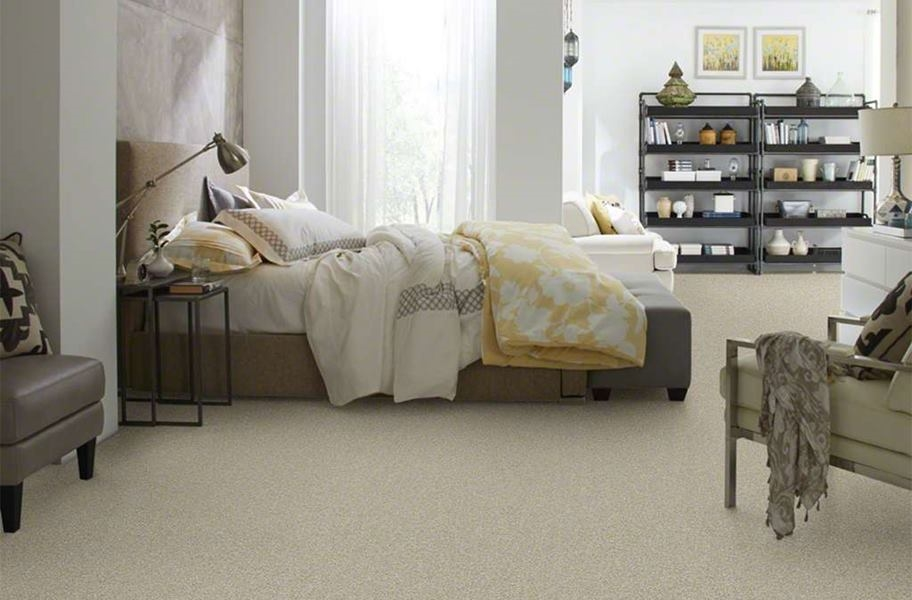 Floorigami Stay Toned Carpet Tile - Frothy Cappuccino
