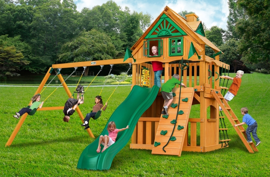 Chateau Clubhouse - Chateau Clubhouse Treehouse with Fort add-on