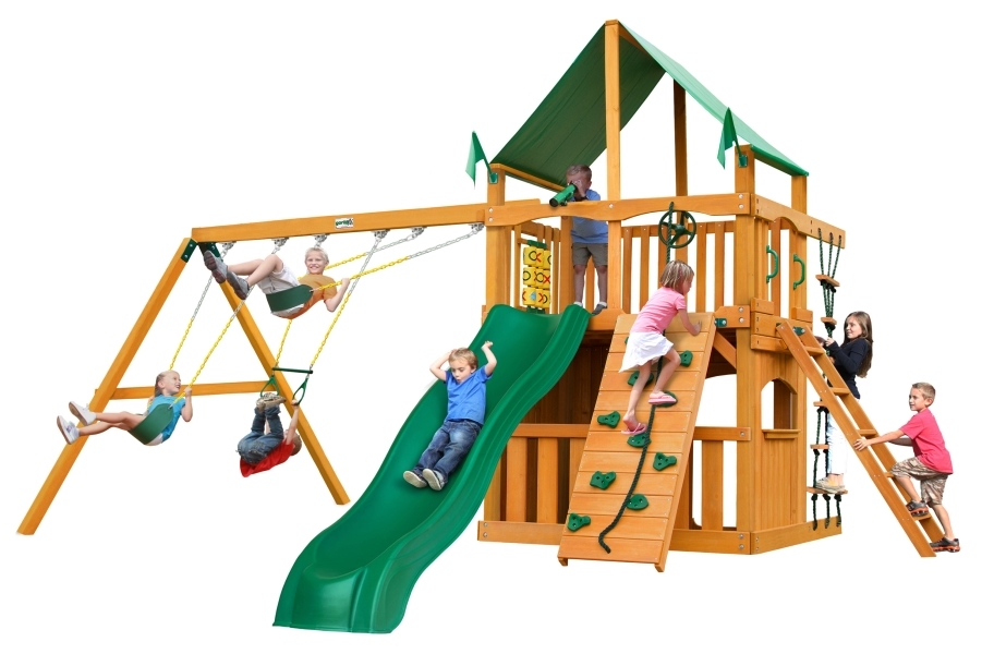 Chateau Clubhouse - Deluxe Green Vinyl Canopy