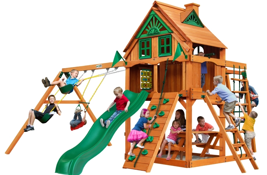 Navigator Playset - Treehouse with Fort add-on