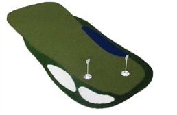 4' x 10' Putting Green Mats w/ Hazards