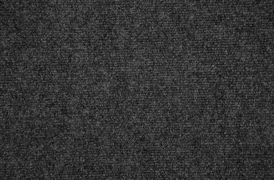 Ribbed Carpet Tile - Quick Ship - Gunmetal