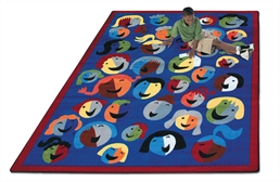 Joy Carpets Joyful Faces Kids Rug
