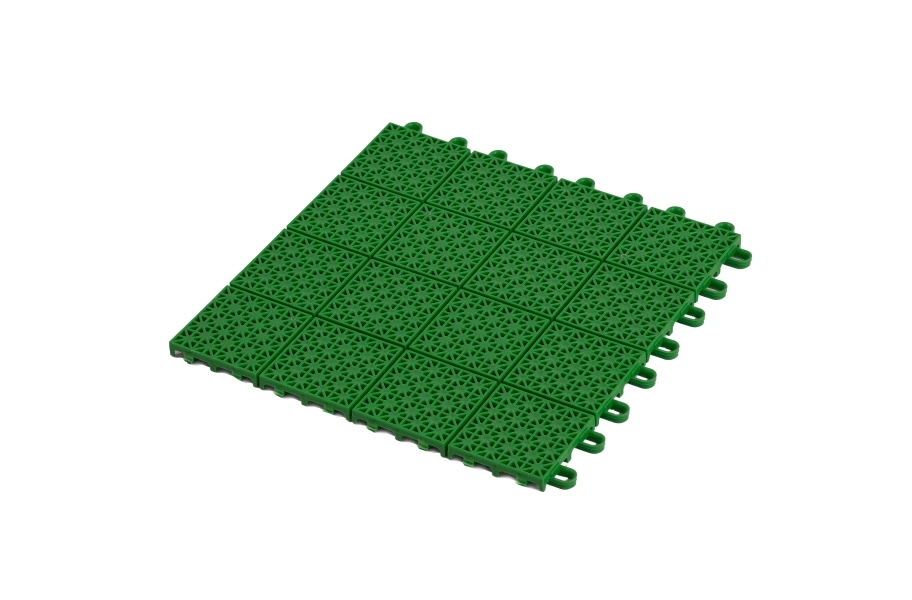 Premium Outdoor Sports Tiles - Green