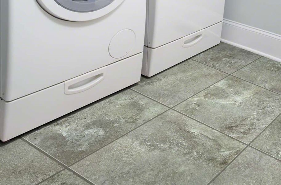 Shaw Resort Groutable Vinyl Tiles - Garden Walk