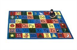 Joy Carpets Around the Block Kids Rug