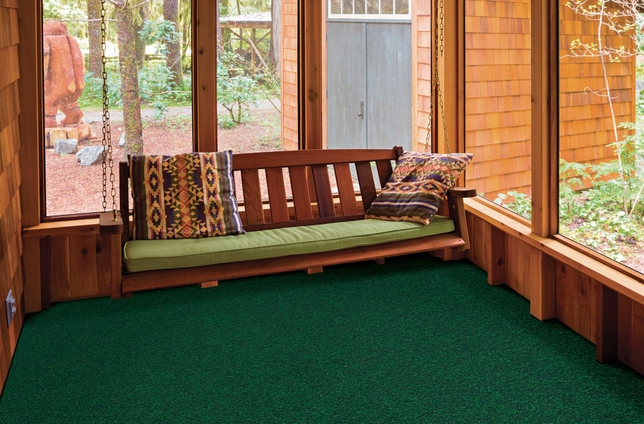 Lakeshore Outdoor Carpet - Heather Green