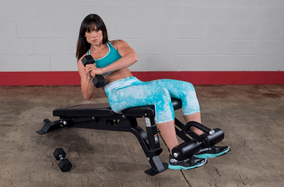 Body-Solid Full Commercial Adjustable Bench
