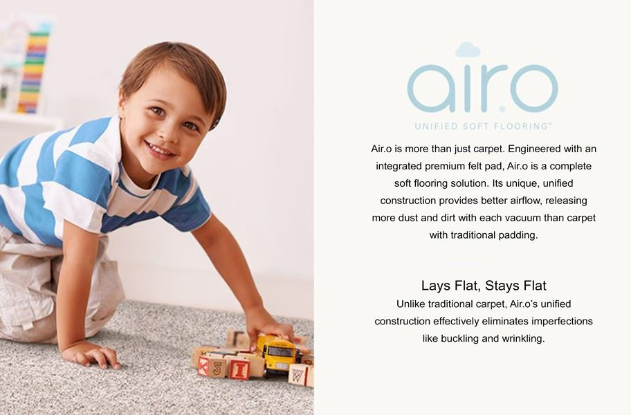 Air.o New Beginnings I Carpet with Pad
