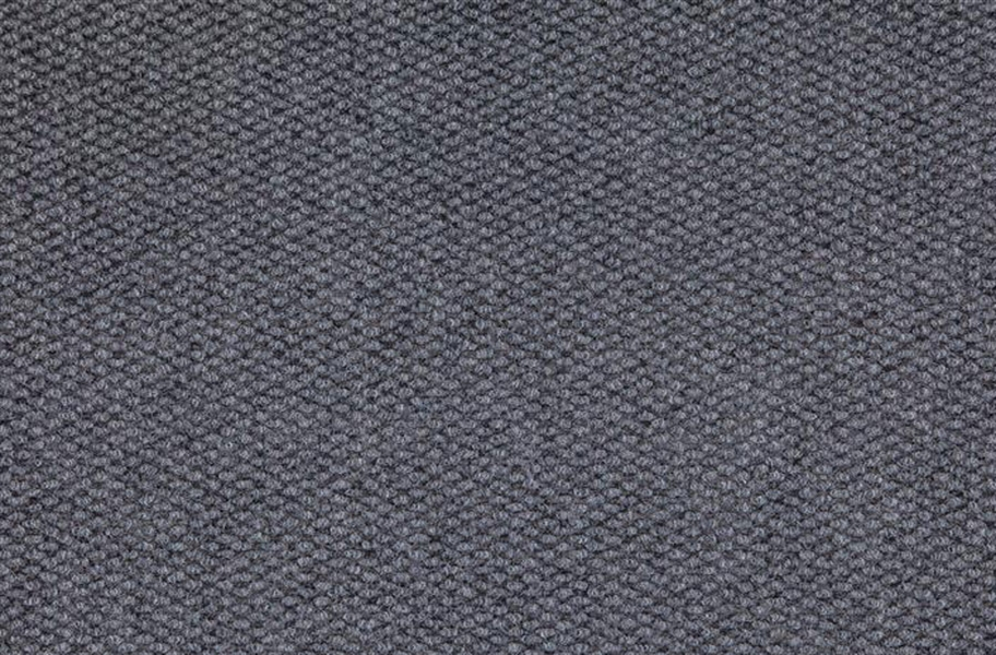 Premium Hobnail Carpet Tiles - Sky Grey