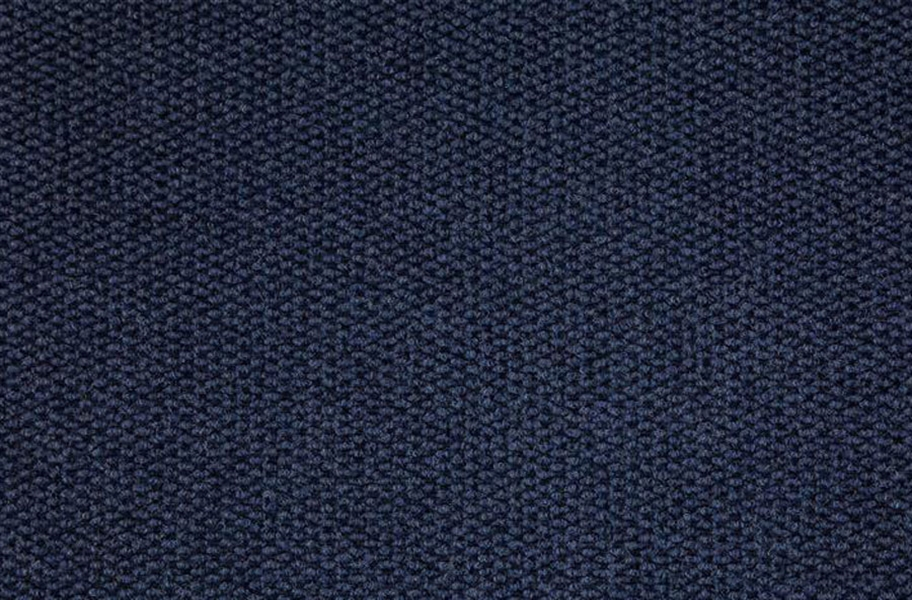 Premium Hobnail Carpet Tiles - Blue