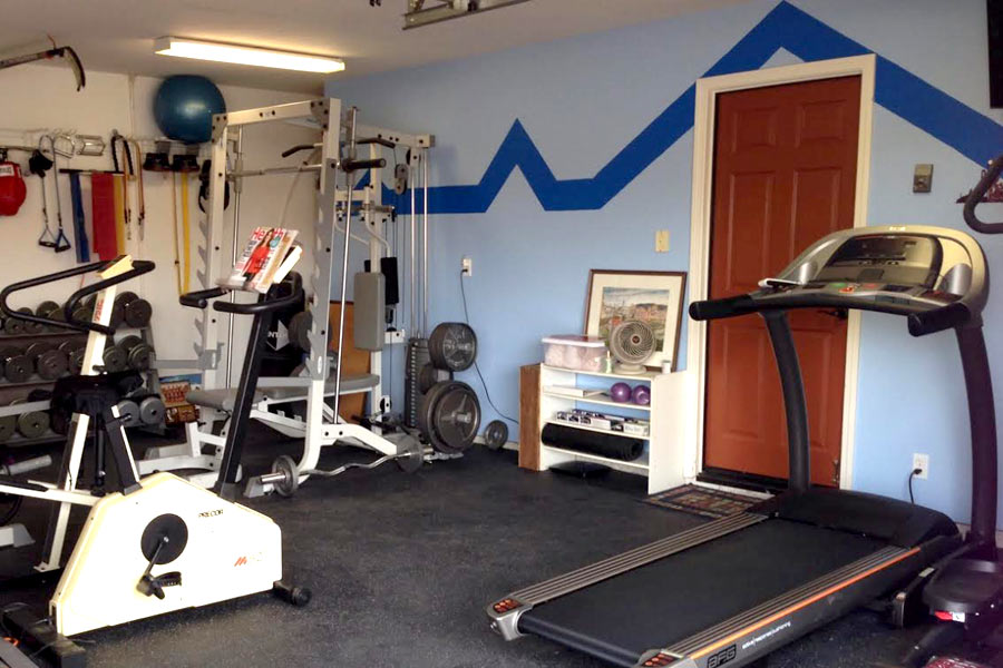 Customer review image of  in Garge Gym