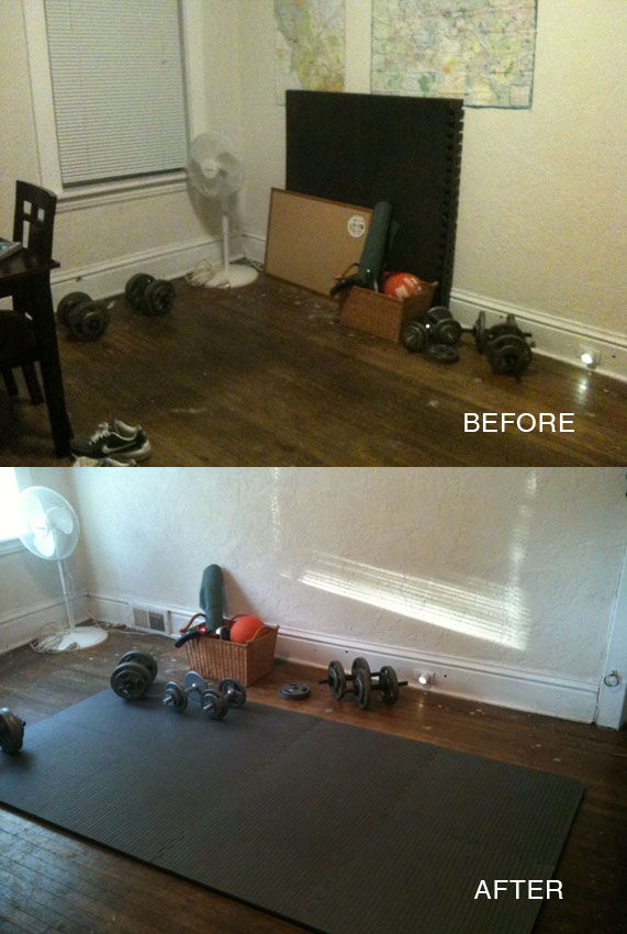 Customer review image of  in Spare bedroom turned into a kids playroom