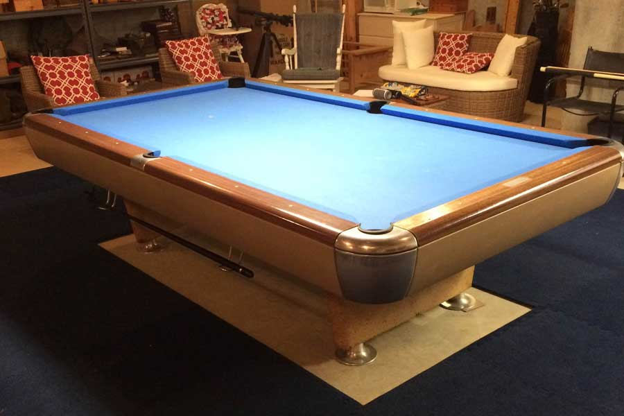 Customer review image of  in Basement around pool table