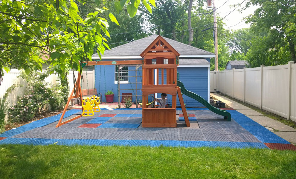 Customer review image of  in Yard under swingset