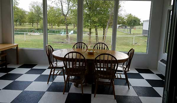 Customer review image of  in Sunroom