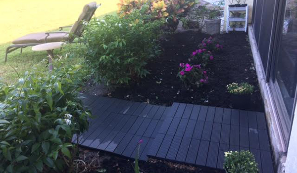 Customer review image of  in Backyard walkway