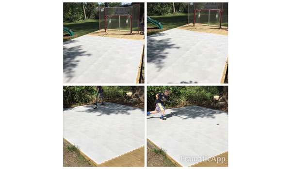 Customer review image of  in Backyard