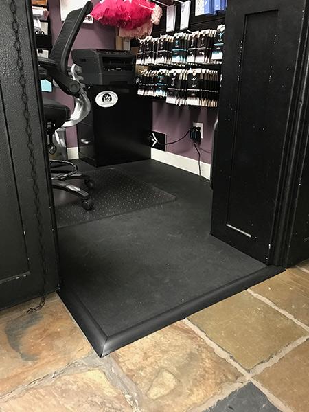 Customer review image of  in Dance studio front desk area.