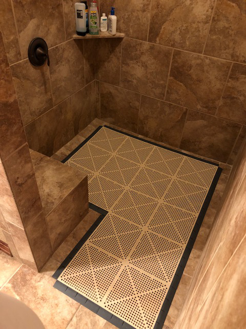 Customer review image of  in Shower