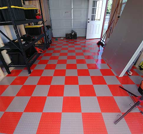Customer review image of  in 12 X 20 garage