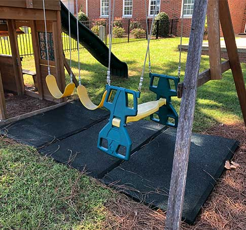 Customer review image of  in Swingset