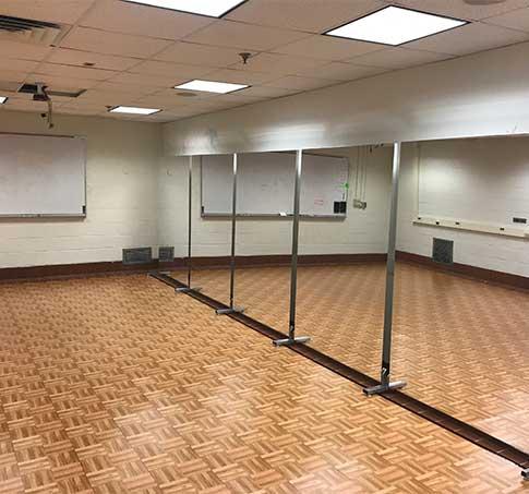 Customer review image of  in Collegiate dance studio