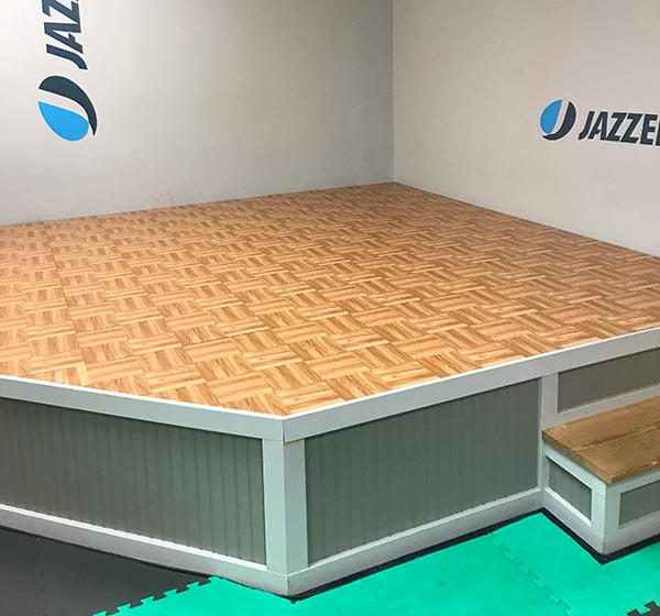 Customer review image of  in Jazzercise studio