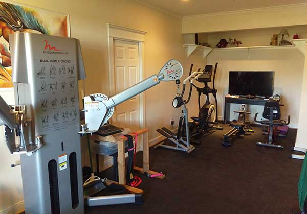 Customer review image of  in New home gym.