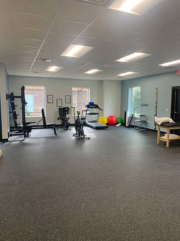 Customer review image of  in Physical therapy clinic gym