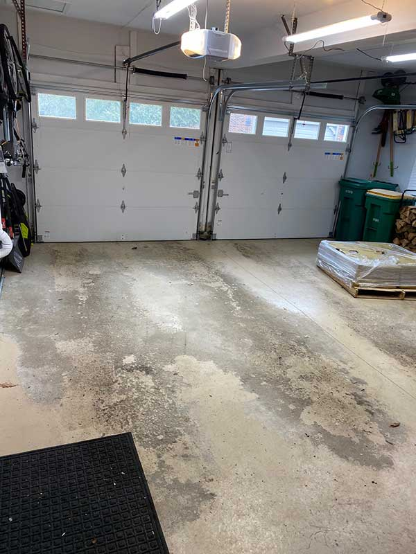 Customer review image of  in Garage floor