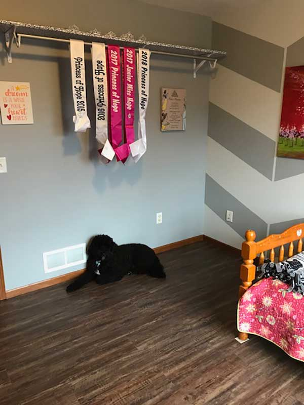 Customer review image of  in Daughter's bedroom