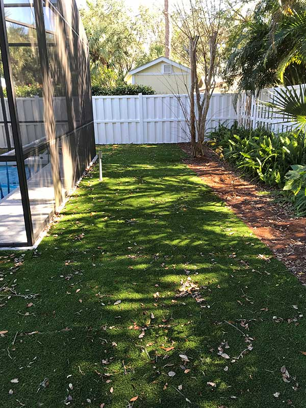Customer review image of  in whole yard