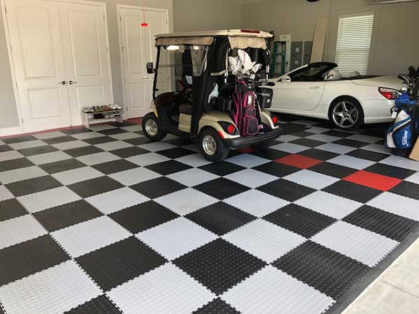 Customer review image of  in Garage concrete floor