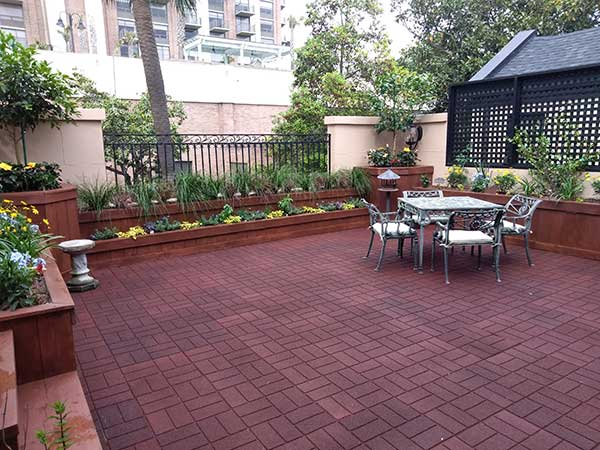 Customer review image of  in Roof patio