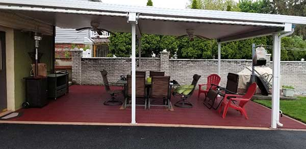 Customer review image of  in Outside covered patio area.