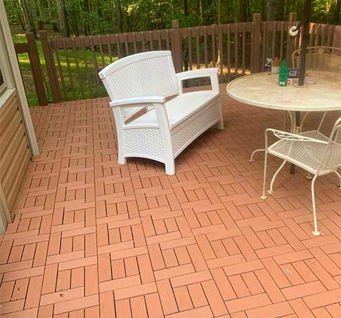 Customer review image of  in Deck