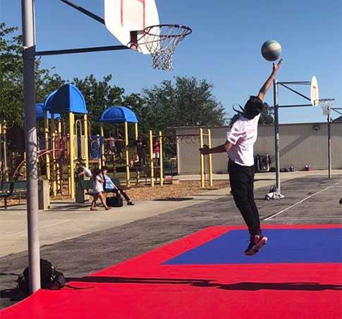 Customer review image of  in Basketball Court