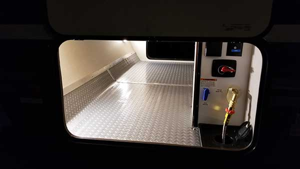 Customer review image of  in pass-thru in my new RV trailer