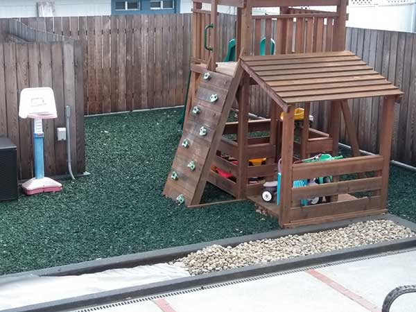 Customer review image of  in Backyard play area