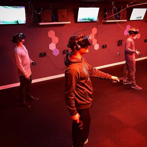 Customer review image of  in Virtual Reality Room