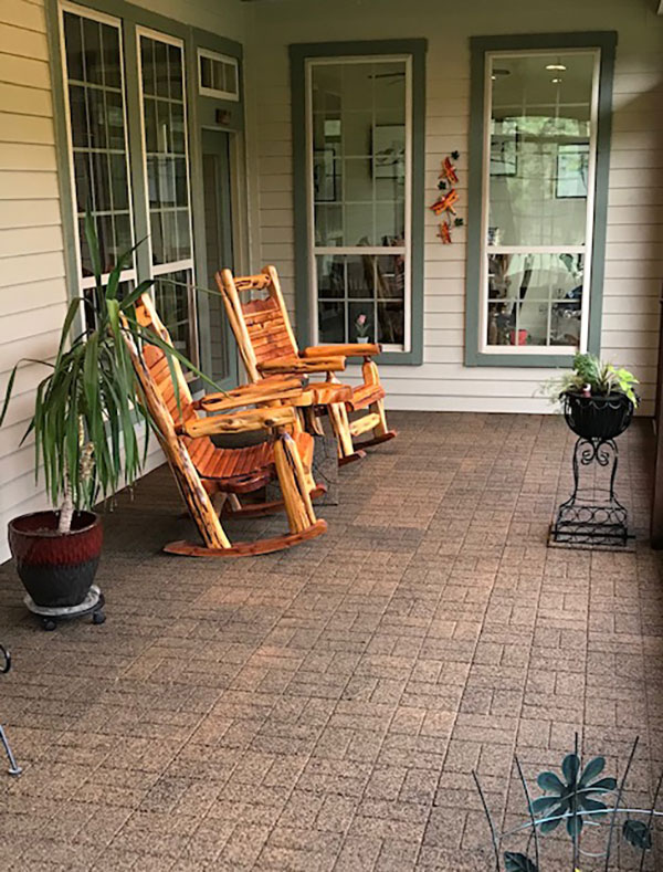 Customer review image of  in Back patio